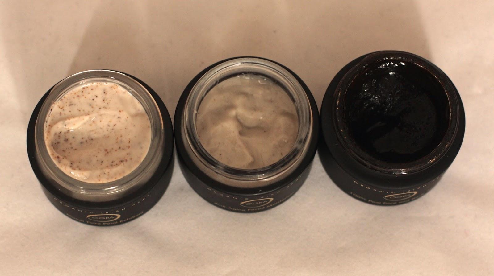 OGRA organic Irish peat exfoliant, moisturiser and beauty mask