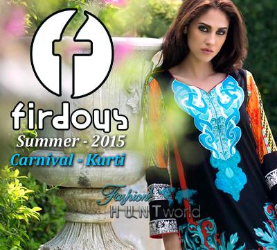 Firdous Carnival 2015 Kurti
