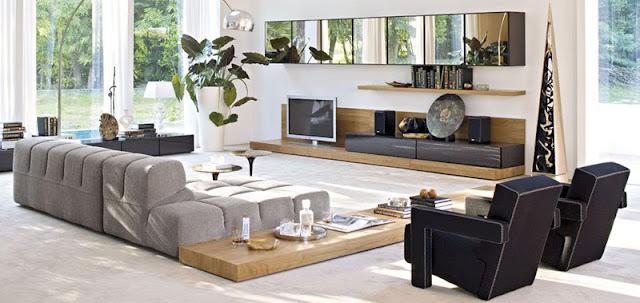 decoracion sala minimalista