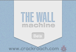 Crackroach create fake facebook wall using The Wall Machine