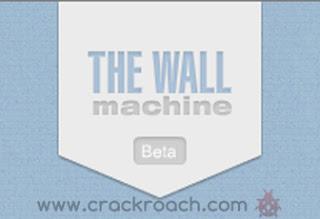 Crackroach create fake facebook wall using The Wall Machine