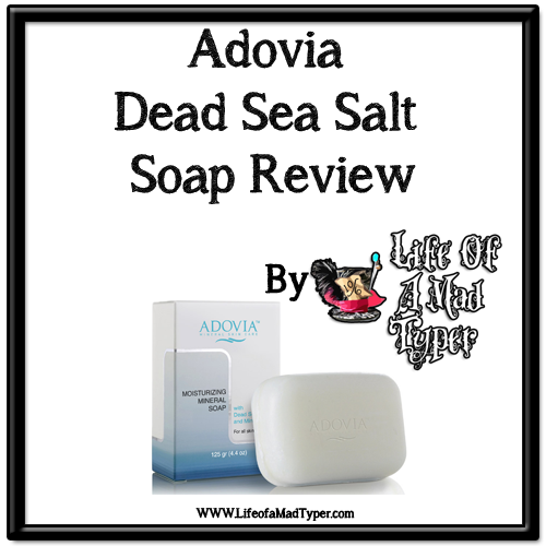 Adovia Dead Sea Salt Soap Review