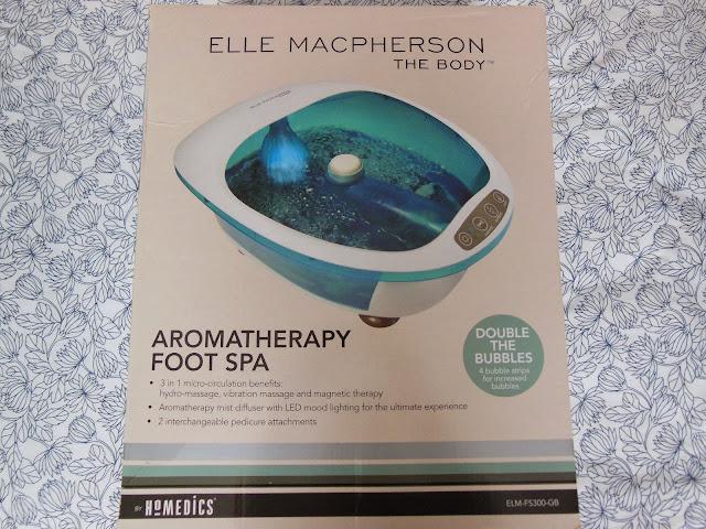 Elle McPherson aromatherapy foot spa