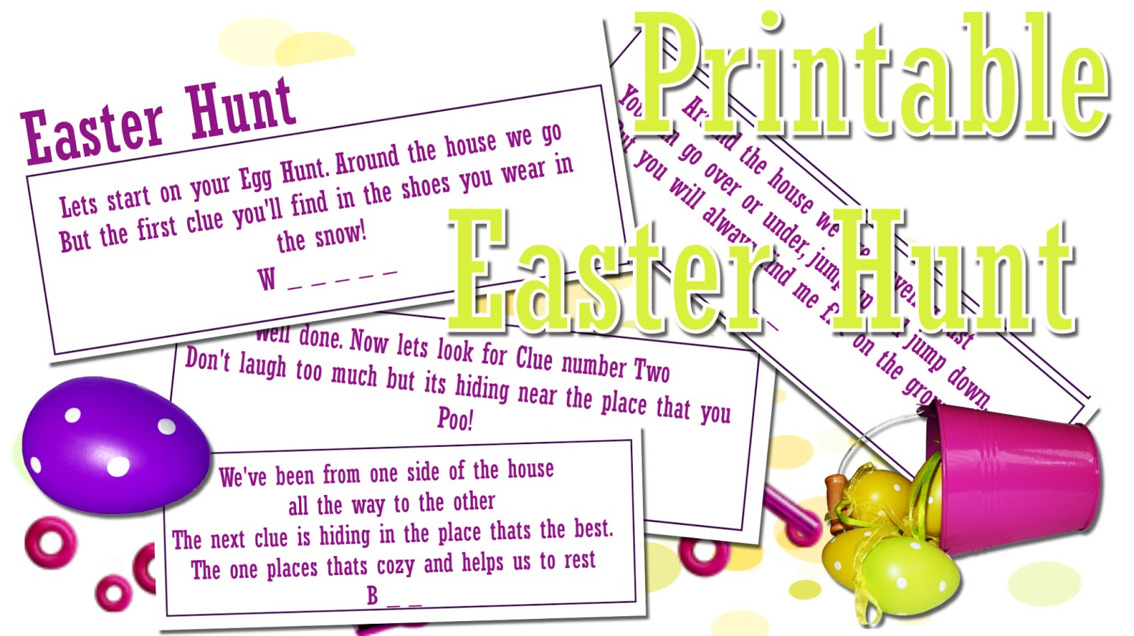 this is me sarah mum of 3: fun easter egg hunt - print out!