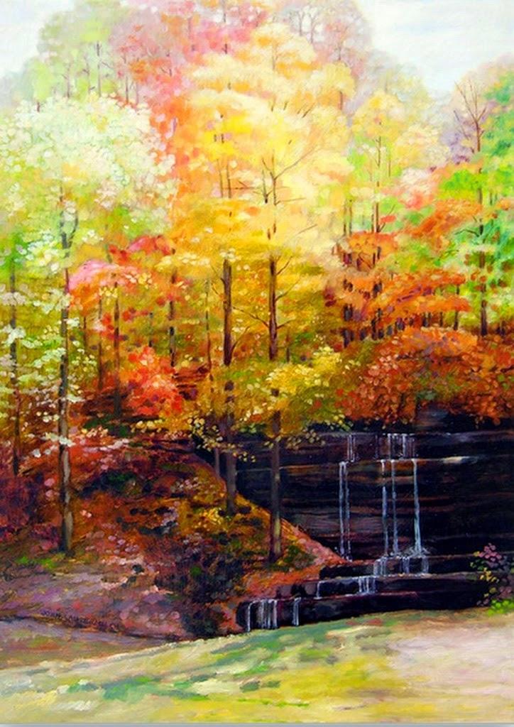 cuadros pintados-al-oleo-en-lienzos-de-diferentes-formatos