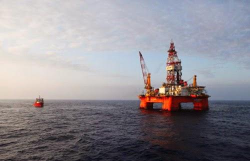 Mỹ nhúng tay vào điều tra thực hư hành ddoognj Trung Quốc bành trướng giàn khoan ra biển Đông