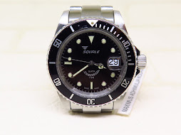 SQUALE DIVER 200M BLACK DIAL - AUTOMATIC MADE IN SWISS