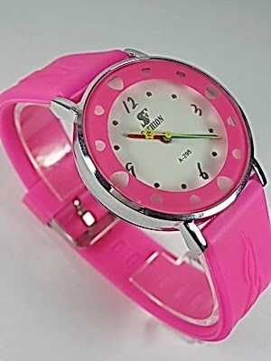 Jam Tangan Fashion Love 10R Pink