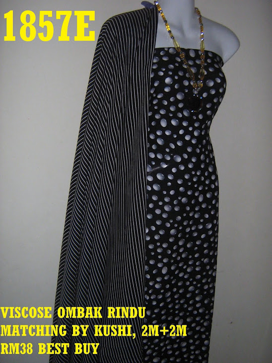 VOM 1857E: VISCOSE OMBAK RINDU MATCHING BY KUSHI, 2M+2M