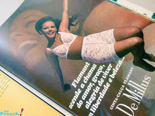 publicidade: propaganda DeMillus anos 70