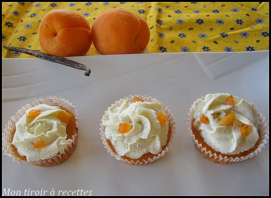 cupcakes abricots