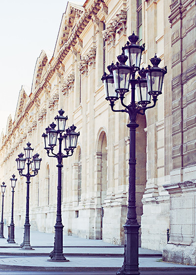paris light posts