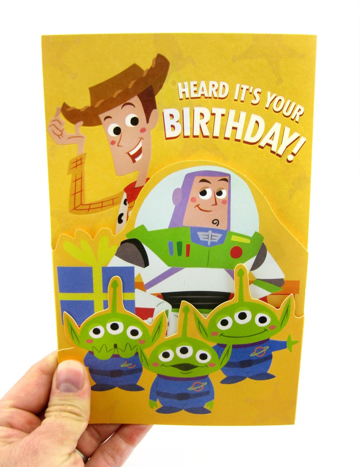 Dan the Pixar Fan Toy Story Birthday Card Target 2016 – Buzz Lightyear Birthday Card