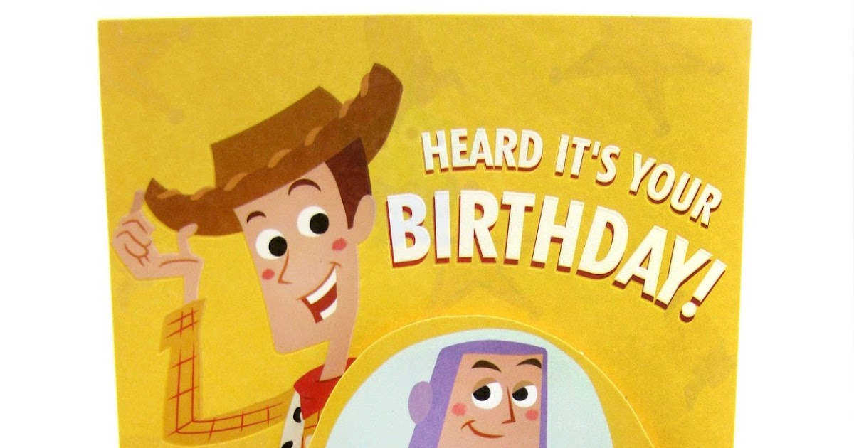 No Toys For Birthday Poem Dan The Pixar Fan Toy Story Card Target