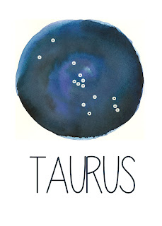 Taurus Constellation Printable from Spool and Spoon (www.spoolandspoonblog.com)