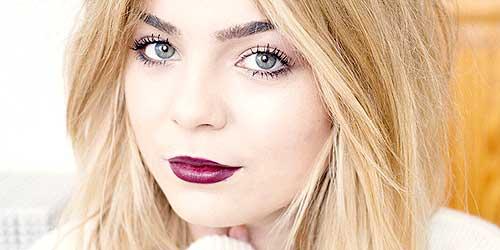 7 tendencias de maquillaje para triunfar este oto o for Labios burdeos