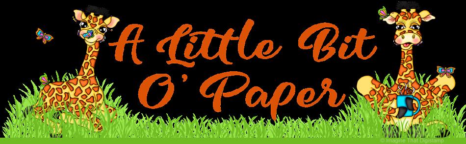 A Little Bit o' Paper