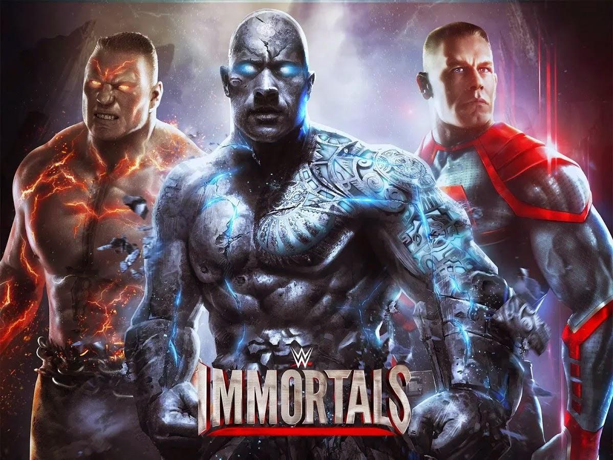 WWE Immortals v1.0.1 APK [Mod Money]