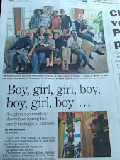 Article about our family in The Tennessean