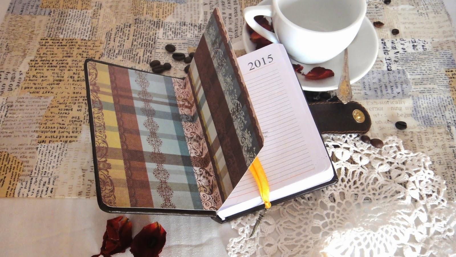 Женский кожаный ежедневник - подарок подруге