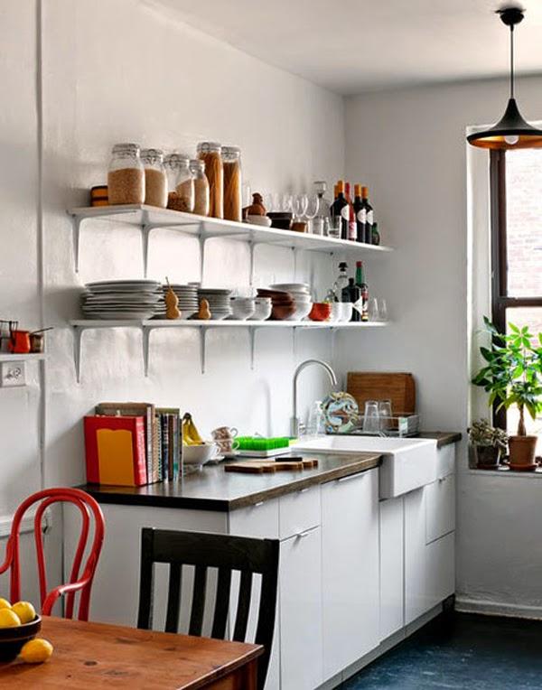 Ideas de cocinas creativas para peque os espacios cocina for Muebles cocina pequenos espacios
