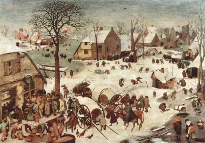 Brueghel+%2522Census+at+Bethlehem%2522 Bob McDonnell's former brother in law, who now lives as a woman and is ...
