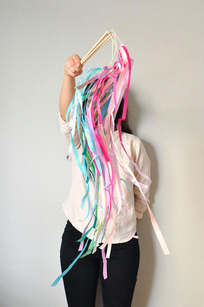 Crepe Paper Swirlers
