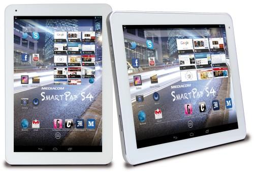 Dimensioni discretamente compatte e design tipico dei tablet Mediacom per il nuovo Smart Pad 10.1