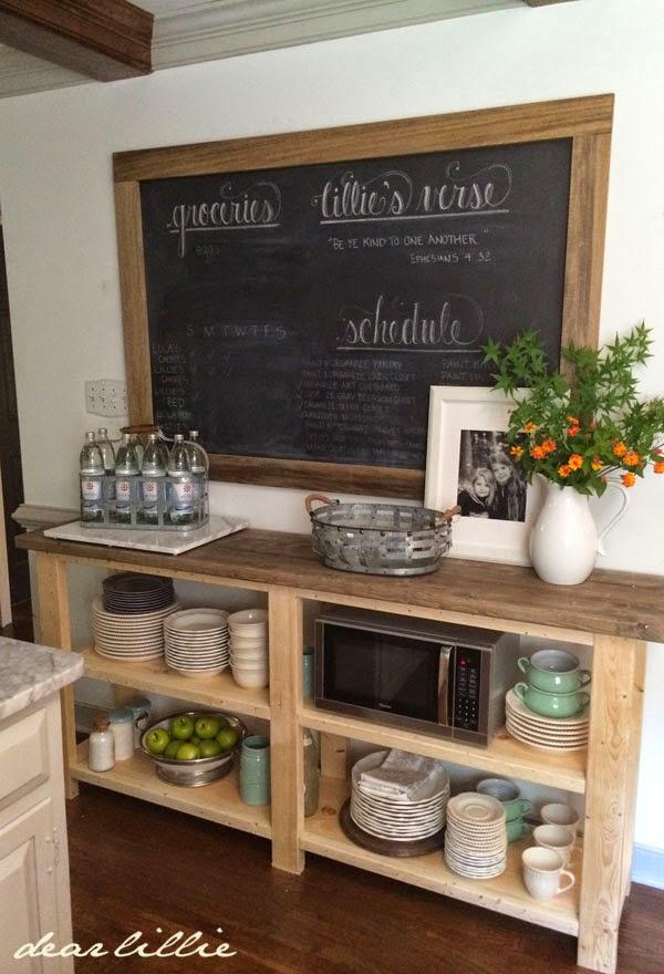 dear lillie a sideboard for our kitchen. Black Bedroom Furniture Sets. Home Design Ideas