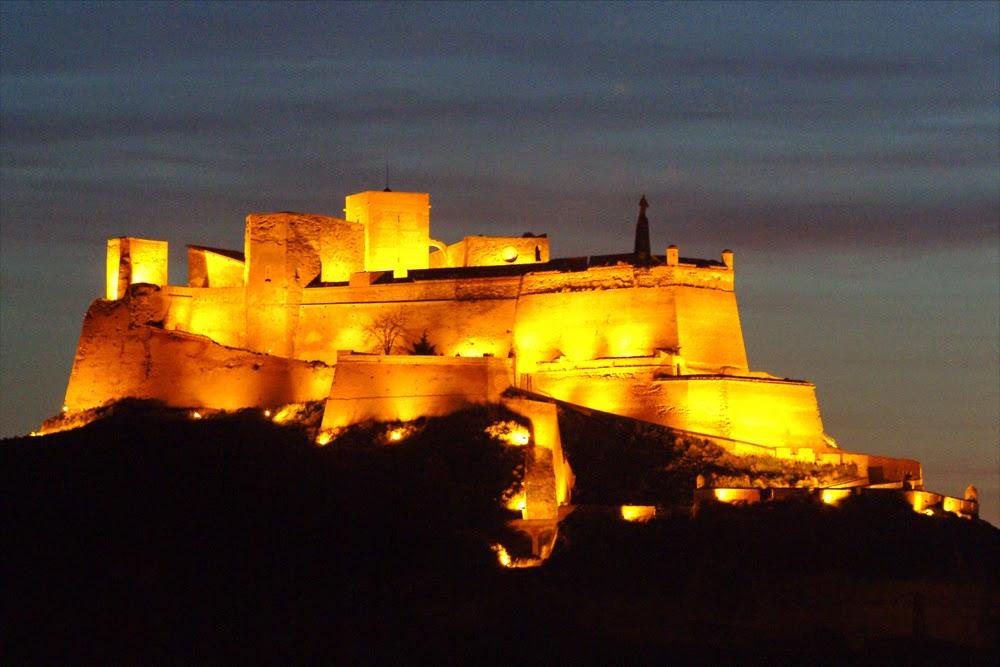 monzón castillo templario