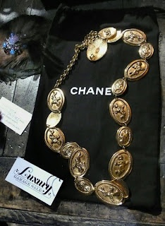 Luxury Garage Sale Chanel necklace
