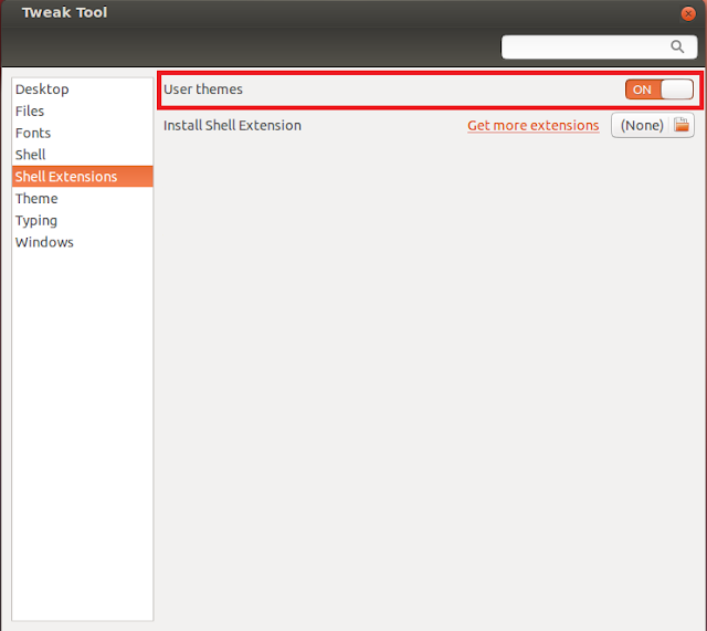 how to open installed extension in ubuntu