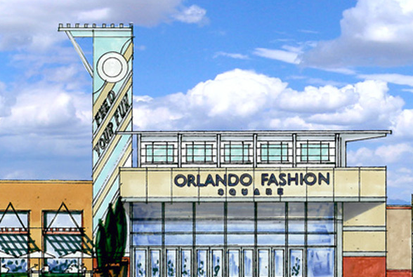 Fashion square mall renderings include a hotel for Olive garden fashion square mall
