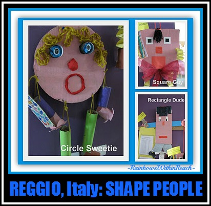 UPcycle 'Shape People' from Reggio Emilia Italy via RainbowsWithinReach