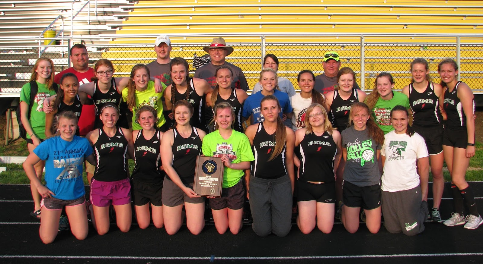 2016 BSMS Girls' Team Honored