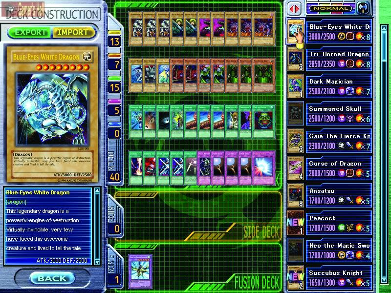 Screens Zimmer 3 angezeig: yu gi oh games pc