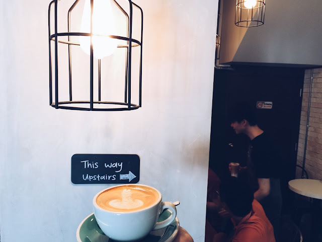 A.R.C Coffee Singapore - Cafe Latte