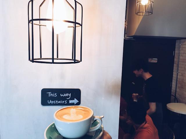 A.R.C Coffee Singapore - Cafe Latte