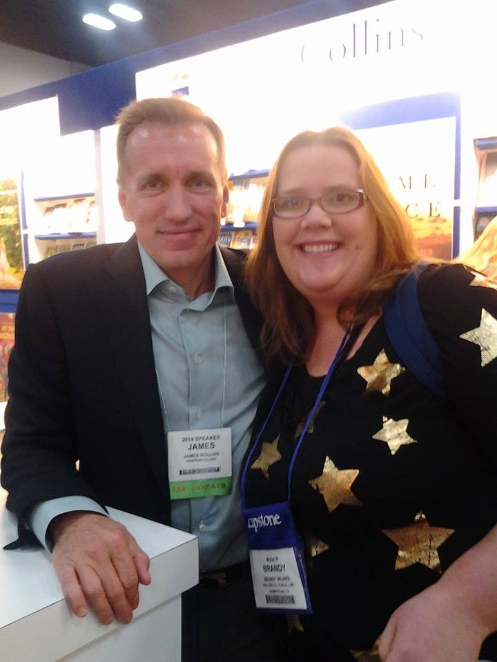 James Rollins and I