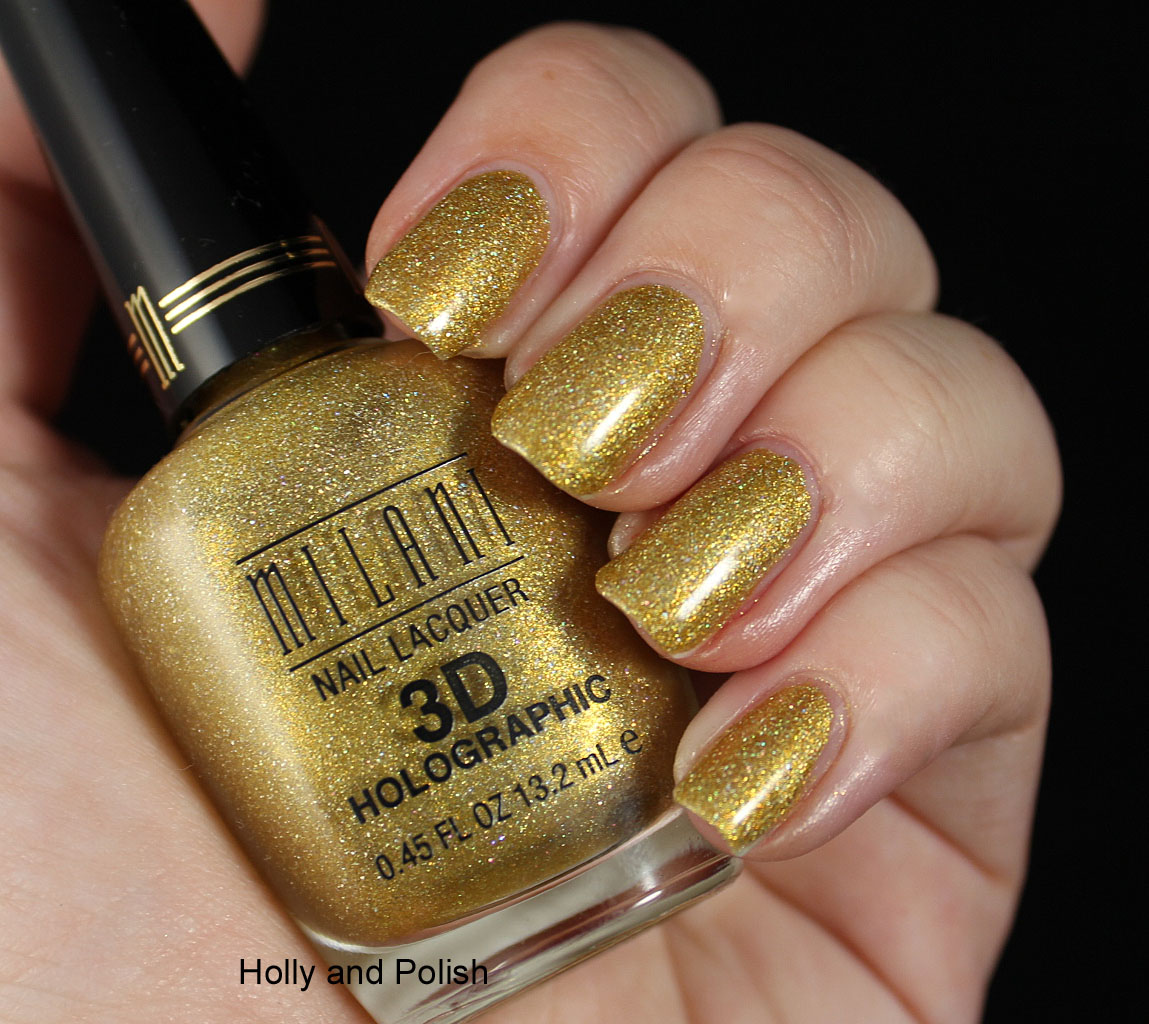 Clumpy Nail Polish: Holly And Polish: A Nail Polish And Beauty Blog: Milani 3D