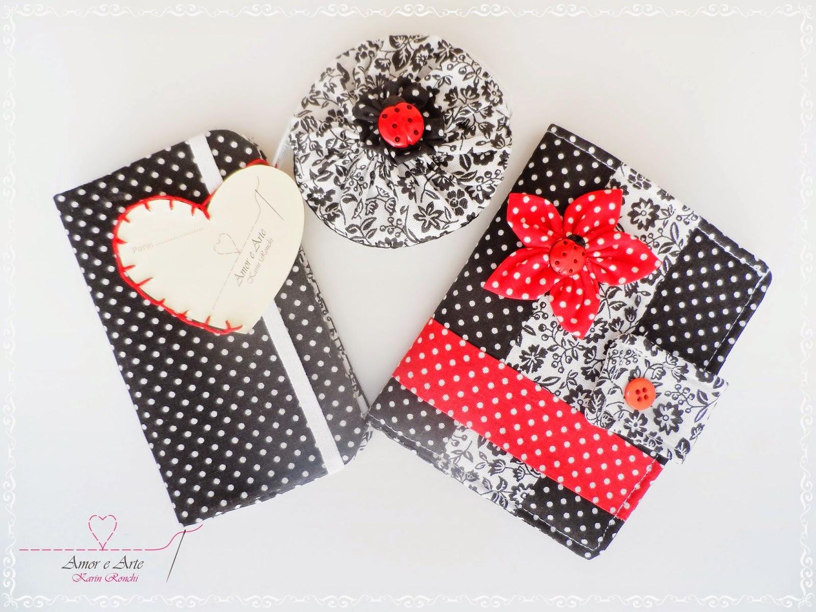 Kit: Carteira + Case para celular + Niqueleira