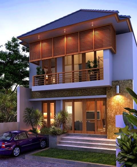 rumah minimalis modern tipe 100