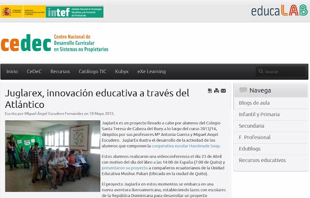 http://cedec.educalab.es/es/noticias-de-portada/2166-juglarex-innovacion-educativa-a-traves-del-atlantico