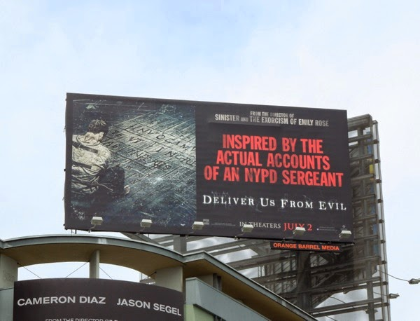 Deliver Us From Evil movie billboard