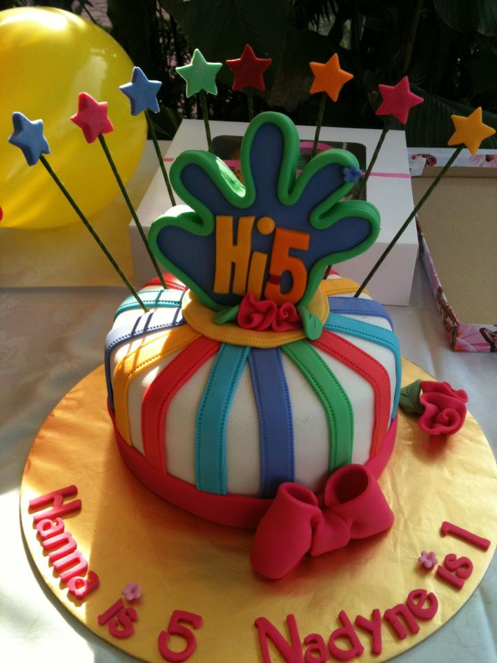 A Joyful Hi 5 Birthday Party D