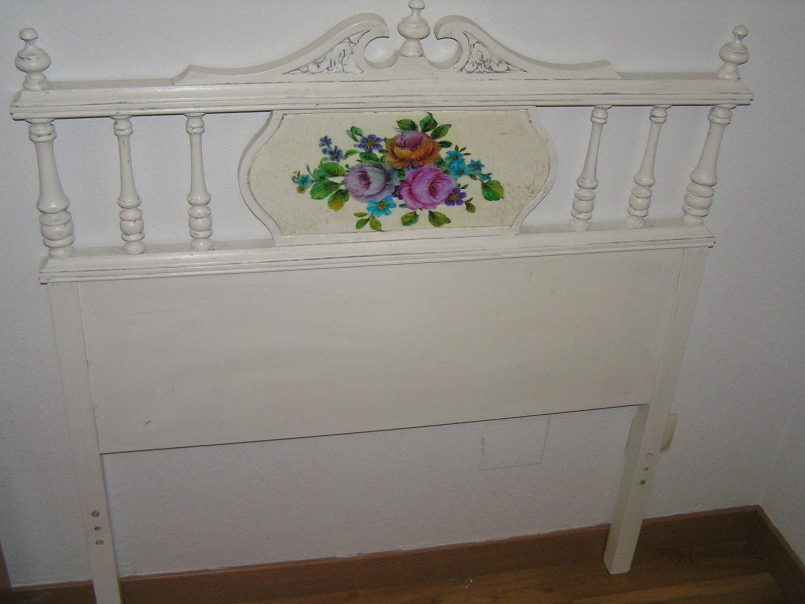 Cabecero restaurado bricolaje - Ideas para hacer un cabezal de cama ...