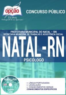 Apostila Concurso Prefeitura de Natal - RN - Psicólogo - 2016