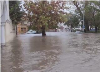 Воден апокалипсис в Хасково, 90 л/кв.м се изляха за 10 часа (видео)
