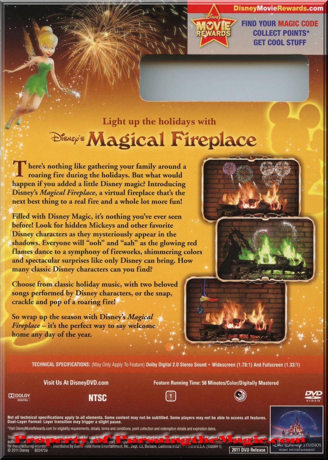 pursuing the magic disney u0027s magical fireplace