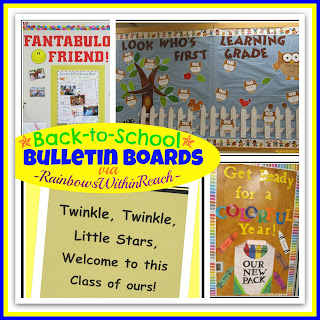 photo of: Back-to-School Bulletin Boards via RainbowsWithinReach